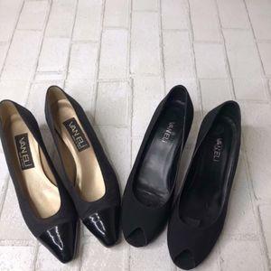 Vaneli Made In Italy 2 pair of Heels